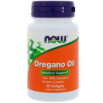 Now Foods Oregano oil 500 mg, 90 softgel kapslí