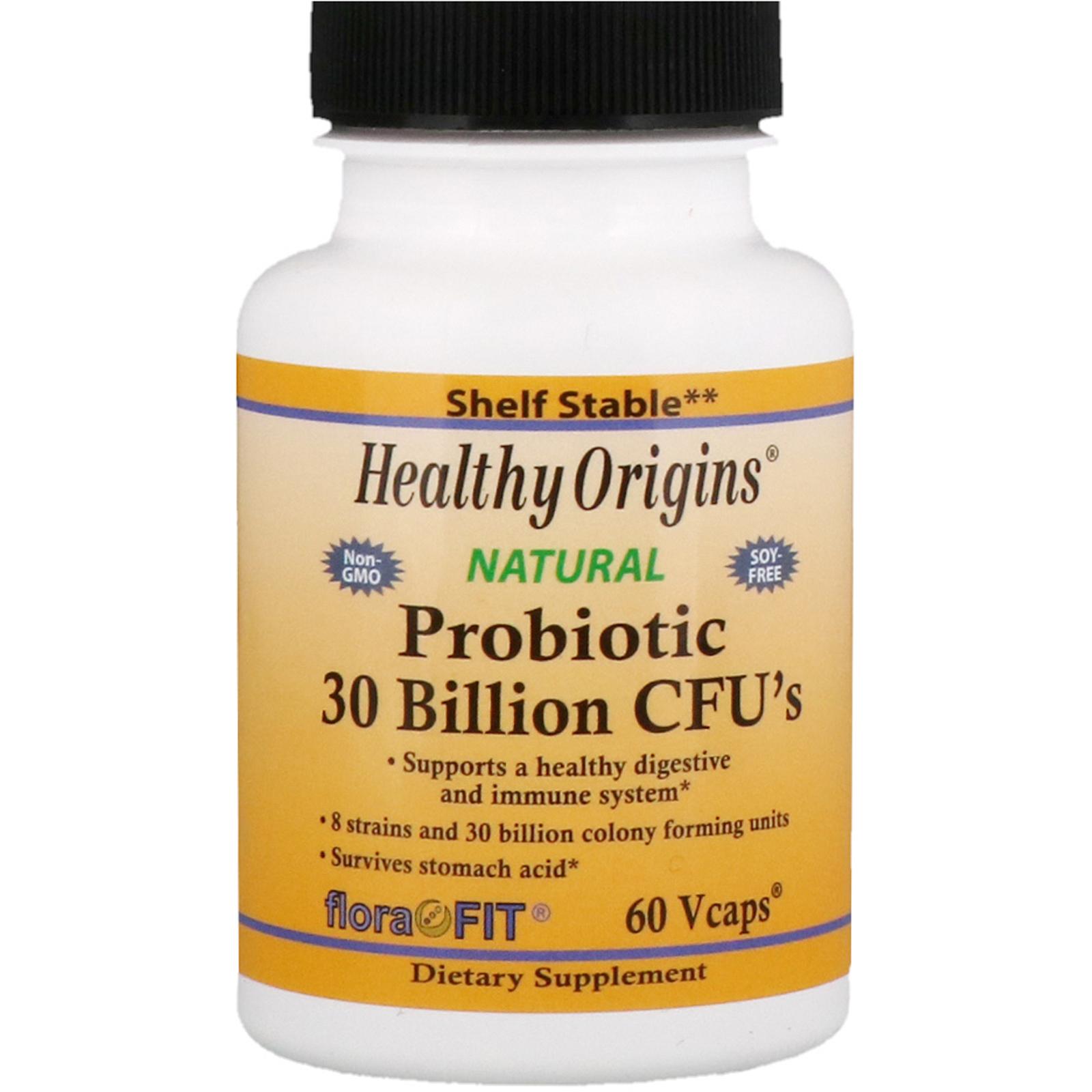 Healthy Origins Probiotika 30 miliard CFU, 60 veg.kapslí